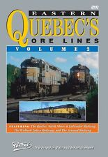 EASTERN QUEBEC'S ORE LINES VOL 2 PENTREX NEW DVD VIDEO