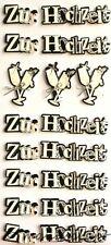 Artoz Artwork 3D-XL-Sticker, Zur Hochzeit