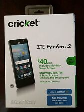 Brand New (FACTORY UNLOCKED) ZTE Fanfare 2 4G LTE Cricket Android 6.0 Z815 GSM