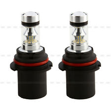 1 Pair HID White 9004 100W LED Cree Projector Fog Driving DRL High Low Lights