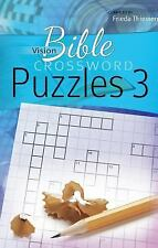 Vision Bible Crossword Puzzles #3 (2016, Paperback)