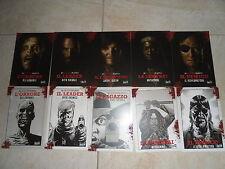 Collezione Completa 10 Cartoline THE WALKING DEAD Promo PostCard Complete Series
