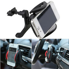 Grey Car Air Vent Mount Cradle Holder Stand For iPhone Samsung Mobile Cell Phone