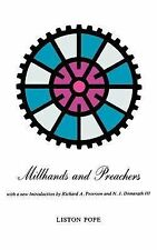 Millhands and Preachers: A Study of Gastonia (Yale Studies in Religious Educati