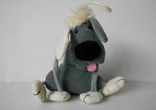 DINGLY DANGLY GREY DOG small soft toy, JELLYCAT Jelly Cat J151 dingle dangle