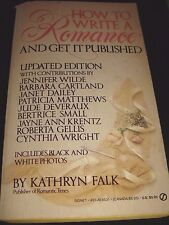 How to Write a Romance and Get It Published by Kathryn Falk Paperback