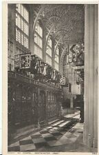 London Postcard - Henry V11 Chapel - Westminster Abbey   ZZ178