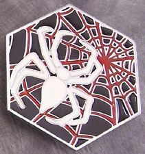 Pewter Belt Buckle animal Spider and Web NEW
