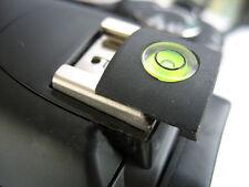 Tapa de zapata cubierta espíritu Nivel de Burbuja para SLR DSLR Nikon Pentax Canon Reino Unido Stock