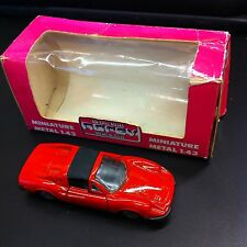 FERRARI 246 GTS NOREV JET-CAR 1/43 NEUVE Made in France 1972