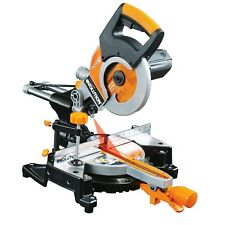 EVOLUTION RAGE 3-S CHOP SAW SLIDING COMPOUND MITRE SAW 240V