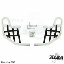 Yamaha  Raptor 350   Nerf Bars   Alba Racing     Silver Black 209 T1 SB