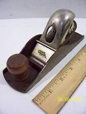 "Nice Stanley NO.110 (13-110) C-255 Woodworking 7"" Block Plane - Made in U.S.A."