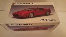 Autoart 1/18 Lotus Esprit V8 in red.