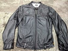G-STAR LEATHER STYLE:MOTOR JACKET  SIZE XL VERY GOOD CONDITION!!!!!!