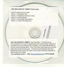 (DC939) The Megaphonic Thrift, Tune Your Mind - 2012 DJ CD