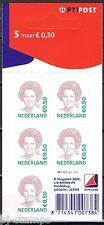 Nederland Beatrix  2039 0,50 euro PTT dicht hangoog W1W1W1W1 kenmerk 21c