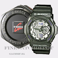 Authentic Casio G-Shock Men's Black Classic Series Digital Watch  GA150MF-8A