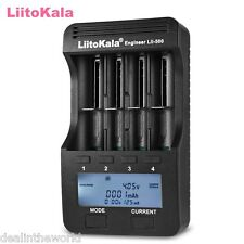 Liitokala Lii - 500 Smart LCD Battery Charger for AA/AAA Rechargeable Batteries