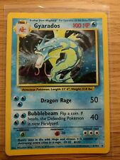 Gyarados Holo Base Set Pokemon Card 6/102