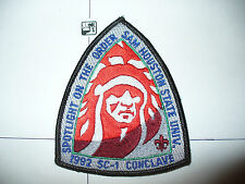 OA 1992 Area SC1,Conclave Patch,pp,MGM Chief,137 HOST,60,72,99,254,327,479,LA,TX