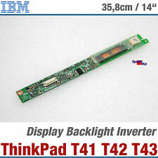 IBM THINKPAD T41 T43 T42 NOTEBOOK DISPLAY LCD BACKLIGHT INVERTER 27K9972 26P8486