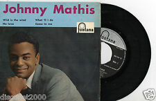 """JOHNNY MATHIS - Wild Is The Wind + 3, EP 7"""" RARE HOLLAND"""