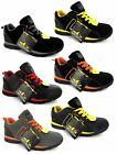 MENS SAFETY TRAINERS SHOES NEW WORK STEEL TOE CAP HIKER ANKLE BOOTS UK SIZE 3-13