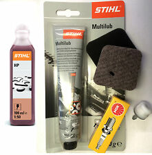 STIHL HS45 hedge cutter extra service kit with filters, oil, grease GENUINE