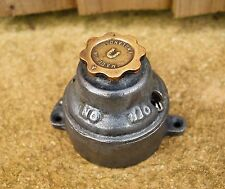 Vintage Old Industrial Light Switch Original Galvanized and Brass Rare