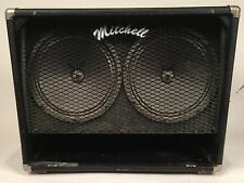 1980's Mitchell 2x12 Sand Cab Amp with Blues Breaker/Tweed Twin Tone!