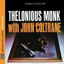 THELONIOUS & COLTRANE,JOHN MONK - MONK WITH COLTRANE (OJC REMASTERS)  CD NEU