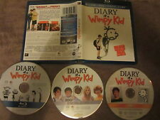Diary of a wimpy kid de Thor Freudenthal avec Zachary Gordon, Bluray US, Comédie