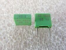10 condensateurs 0,15uF 150nF 63V 10% ERO MKT1826