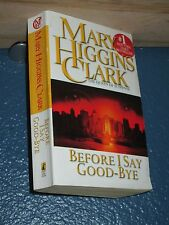Before I Say Good-bye by Mary Higgins Clark *COMBINE SHIPPING .25*9780671004576