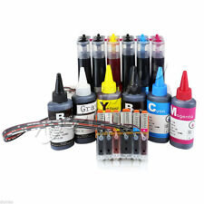 Continuous Ink System and Refill Set for Canon 270/271 MG7720 TS8020 TS9020