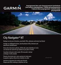 Garmin City Navigator NT Europe microSD Card w/ Adapter GENUINE GARMIN SOFTWARE
