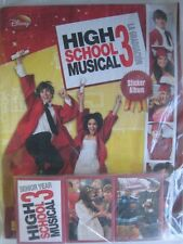 Disney High School Musical 3  Panini Complete 192 Stickers Collection + Album