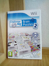 Challenge Me: Brain Puzzles 2  (Wii) RARE (Preowned) - Quick Dispatch