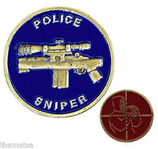 POLICE SWAT SNIPER TEAM CROSSHAIRS  CHALLENGE COIN