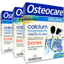 3x Vitabiotics Osteocare Original Strong Bones 30 Tablets