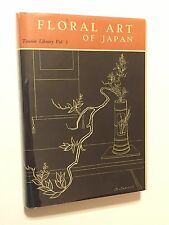 Tourist Library Vol 1: Floral Art Of Japan 1956 8th Revised Edition Tokyo Japan