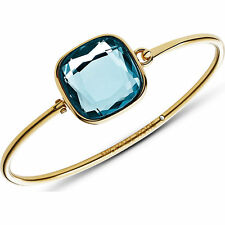 Michael Kors Botanicals Blue Crystal Stone Tension Bangle MKJ4219710 MSRP $95