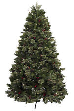 Astella 7.5' Green Artificial Christmas Tree with 500 Clear Lights