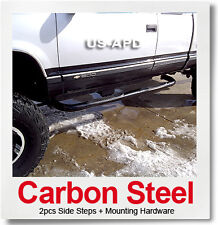 For 88-98 Chevy/Gmc C/K 2Dr Ext Cab Black Nerf Bars