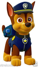 PAW PATROL CHASE The Police Puppy - WindoCling StickOn Decal - Childrens TV Show