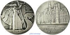 PARIS  ,  CONSEIL  MUNICIPAL  PAR  DELANNOY  ,  FLUCTUAT  NEC  MERGITUR