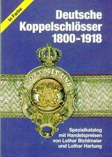 2011: Deutsche Koppelschlösser 1800 - 1918, Bichlmaier / Hartung