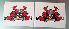 Marc Marquez Samurai Decal Stickers (Motegi Japan Helmet)