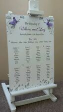Wedding Table Plan / Seating Plan 3D Butterfly Silver/Gold ~ All Colours~